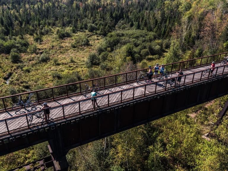 Kawartha Lakes Doubes Trestle Bridge